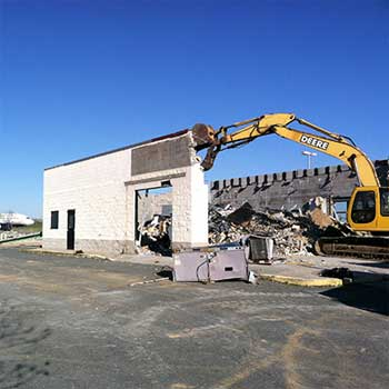 Building Demolition in Greensboro, North Carolina
