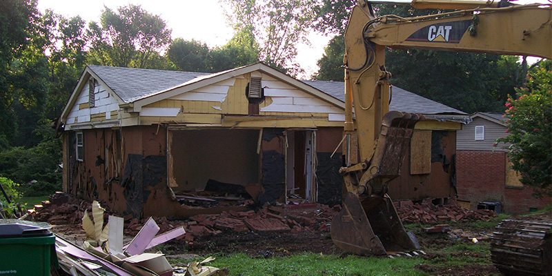 Residential Demolition in High Point, North Carolina