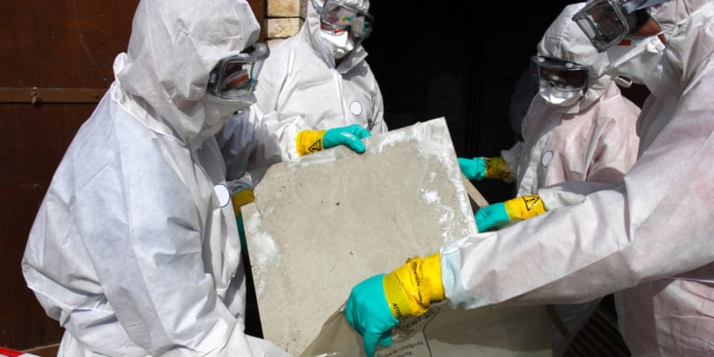 Asbestos removal requires a careful and specific process
