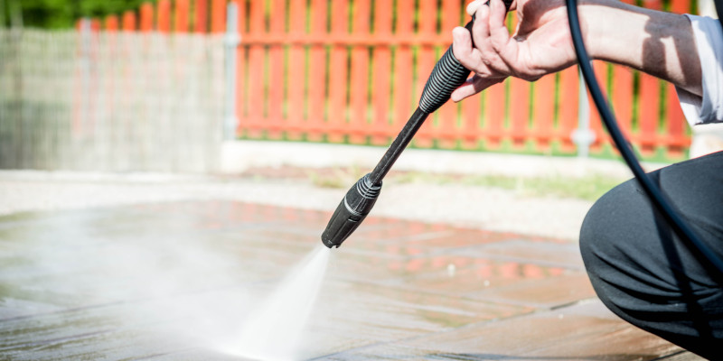 Pressure Washing in Winston-Salem, North Carolina