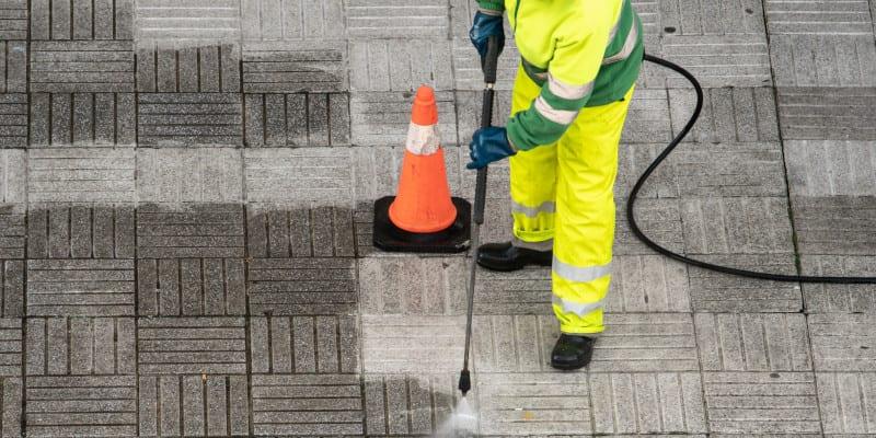 Commercial Pressure Washing in Winston-Salem, North Carolina
