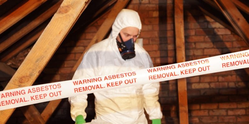 Asbestos removal absolutely should be done by a trained professional